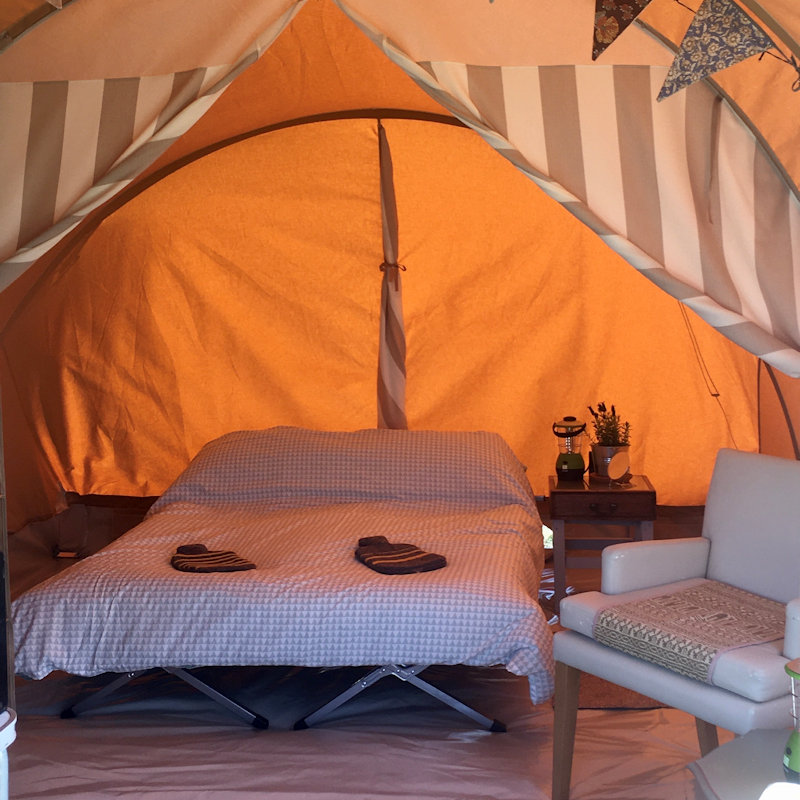 Glamping, Posh Camping & Hassle Free Camping at Deepdale Camping & Rooms from MarGins